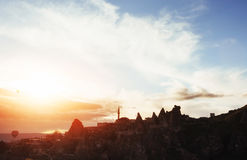 Cappadocia, Anatolia, Turkey. Open air museum Stock Photography
