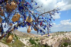 Cappadocia, Anatolia, Turkey. Open air museum, Goreme national park. Beautiful landscape stock photography