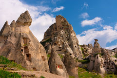 Cappadocia. Ancient cave city Stock Images