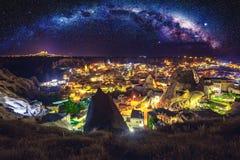 Cappadocia Antyczny miasteczko w Turcja zdjęcia royalty free