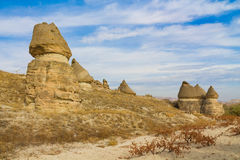 Cappadocia autumn in Goreme Royalty Free Stock Photo