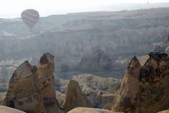 cappadocia ballons воздуха летая горячее небо Стоковая Фотография RF