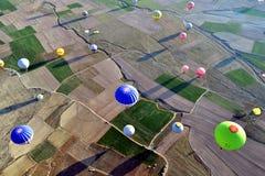 Cappadocia-Ballons Lizenzfreie Stockbilder