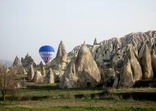 Cappadocia ballons Royaltyfri Foto