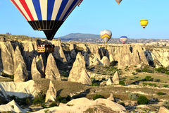 Cappadocia ballons Stock Photo