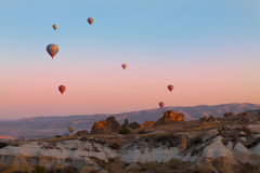Cappadocia balloons Stock Photo