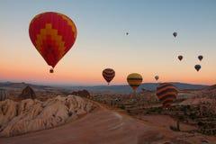 Cappadocia balloons Stock Photography