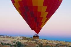 Cappadocia balloons Stock Images