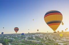 Cappadocia balonu lot obraz stock