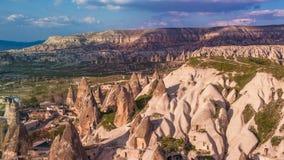 Cappadocia. Beautiful landscape view from Cappadocia, Turkey Royalty Free Stock Photos