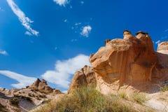 cappadocia bizzare трясет индюка Стоковые Фотографии RF