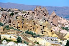 Cappadocia. Cave city Stock Photography