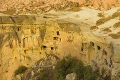 Cappadocia cave city view Stock Photo