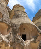 Cappadocia cave house Royalty Free Stock Image
