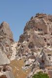 Cappadocia cave houses Stock Photo