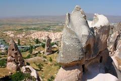 Cappadocia cave houses Stock Photos