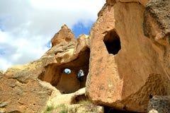 Cappadocia caves Stock Photography