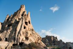 Cappadocia Churches in rock. Ancient Christian churches cut in rock, Goreme region / Turkey Royalty Free Stock Photography
