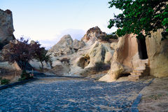Cappadocia, churches in volcanic rocks Royalty Free Stock Images