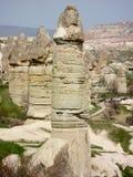 Cappadocia czarodziejki Chimneysmiłości dolina zdjęcie stock