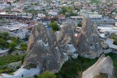 Cappadocia czarodziejscy kominy Obraz Stock