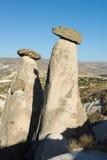 Cappadocia Czarodziejski Kominu Krajobraz, Podróż Turcja fotografia stock