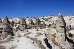 Cappadocia in der Türkei stockfotos