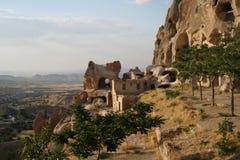 Cappadocia di Uchisar Fotografia Stock