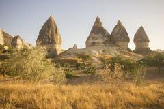 Cappadocia (die Türkei) stockfotos