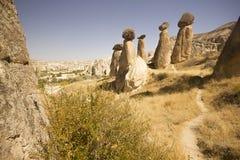 Cappadocia (die Türkei) Lizenzfreie Stockfotografie