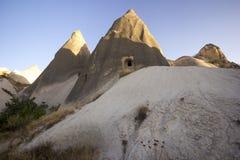 Cappadocia (die Türkei) stockfotografie