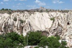 Cappadocia die Türkei Stockfotografie