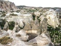 Cappadocia die Türkei Stockfotos