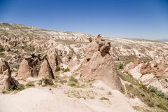 Cappadocia, die Türkei Malerische Felsen im Devrent-Tal Lizenzfreie Stockfotografie