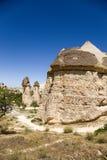 Cappadocia, die Türkei Steinpilze (Säulen von Verwitterung) im Tal Pashabag (Mönch-Tal) Lizenzfreie Stockbilder