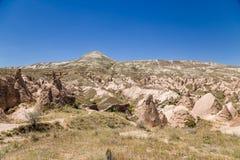Cappadocia, die Türkei Szenische Ansichten des Devrent-Tales Lizenzfreie Stockfotografie