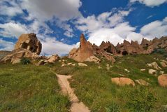 cappadocia doliny zelve Obrazy Royalty Free