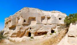 cappadocia dovecotes στοκ φωτογραφίες