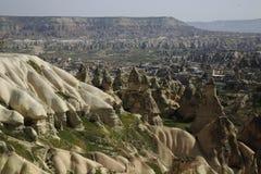 Cappadocia em Turquia Fotos de Stock Royalty Free