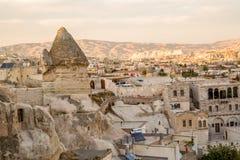Cappadocia em Turquia Fotografia de Stock
