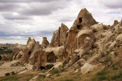 Cappadocia en Anatolia central en Turquía Fotos de archivo libres de regalías