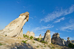 Cappadocia Fairy Chimney Landscape, Travel Turkey Stock Image