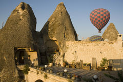 Cappadocia- Fairy chimneys house in Goreme Stock Photo
