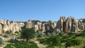 Cappadocia Fairy Chimneysrock formationnearby Goreme in Turkey Stock Images