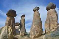 Cappadocia - Fairy Chimneys Royalty Free Stock Photo