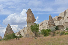 Cappadocia famous rocks Stock Photography