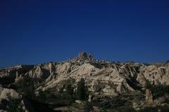 Cappadocia fantastiskt landskap Gereme Arkivbilder