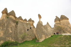 Cappadocia Fee-Kamine Lizenzfreie Stockfotos