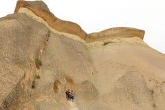 Cappadocia felampglas Arkivfoton
