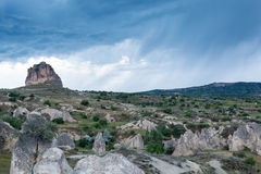 Cappadocia-Felsenregion von der Türkei lizenzfreies stockfoto